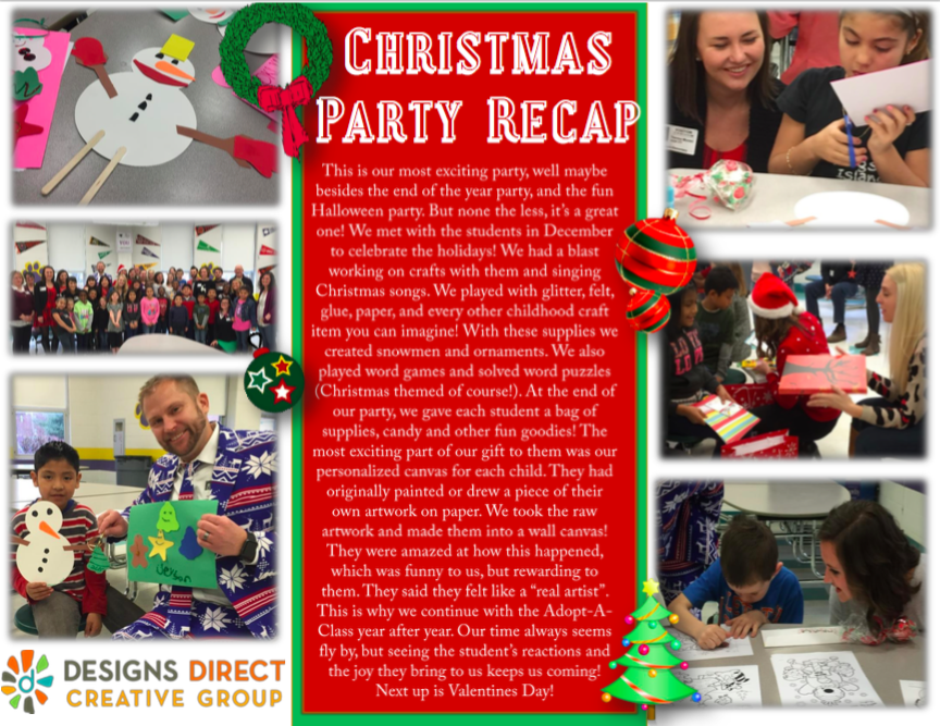 Adopt A Class Christmas Party