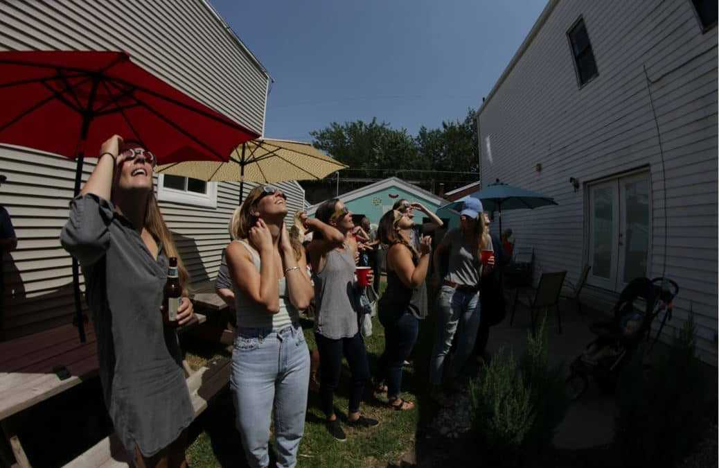 DD Solar Eclipse Viewing Party