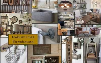Industrial Farmhouse, Celestial & Lemon Trend Board