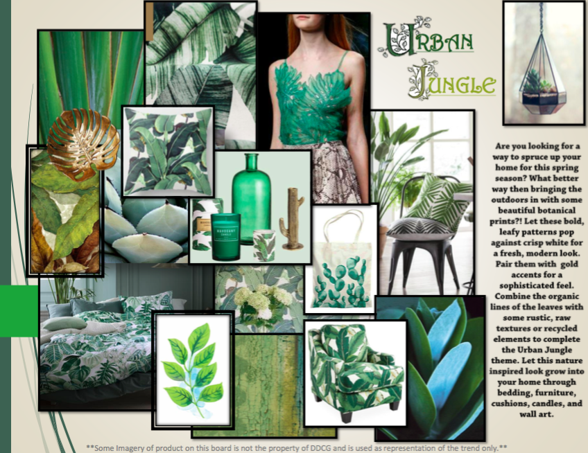 Trend Urban Jungle : Trend watch urban jungle designs direct creative group